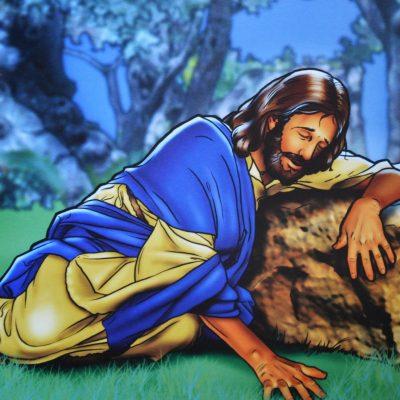 Gezinsmoment – In de hof van Gethsemane
